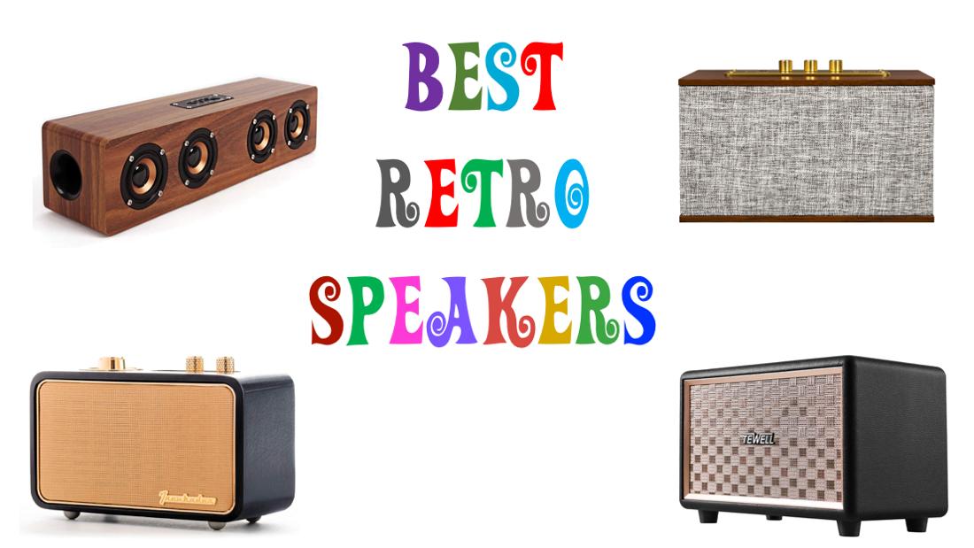 Best Retro Speakers