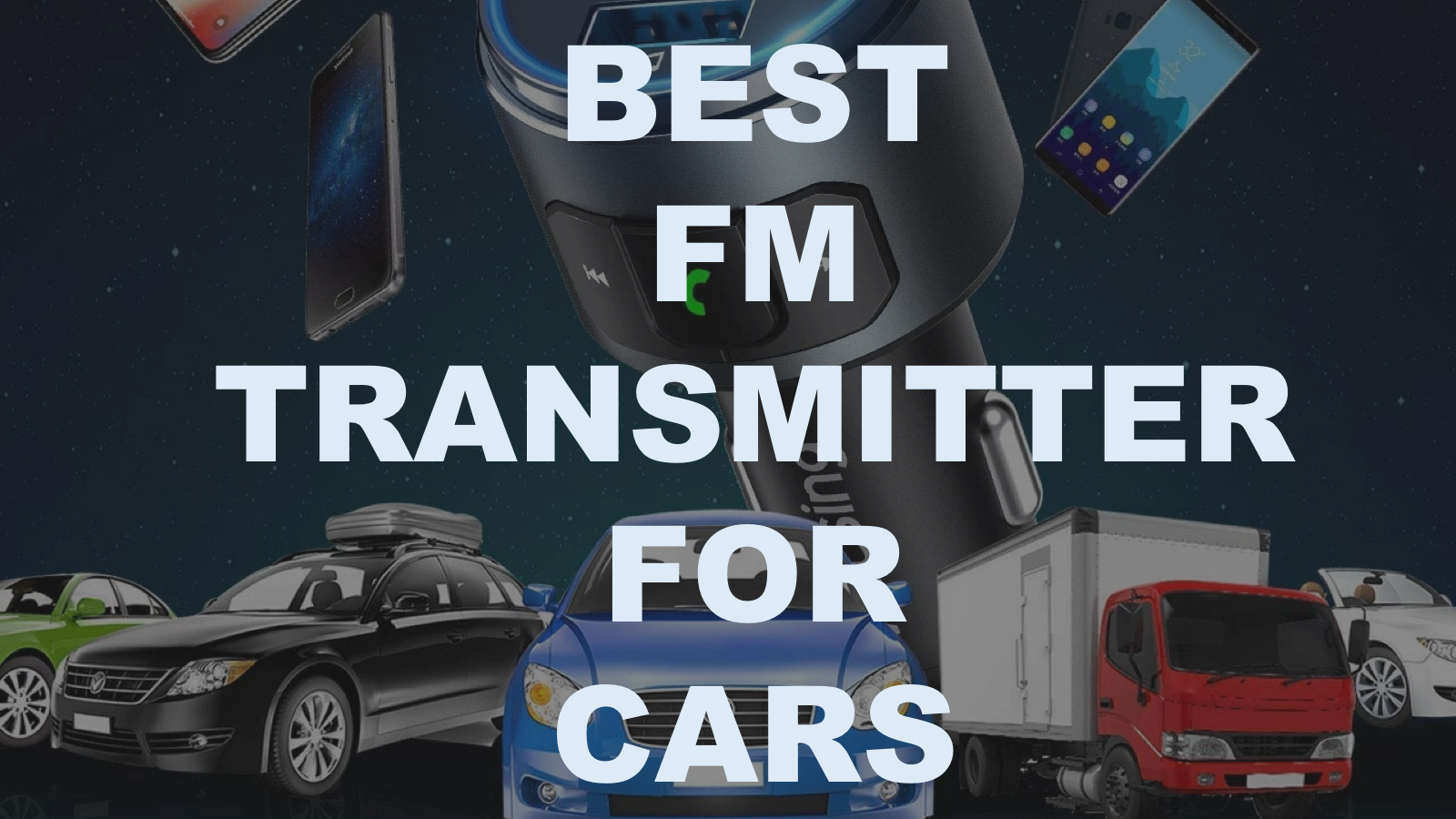 FM transmitter for car