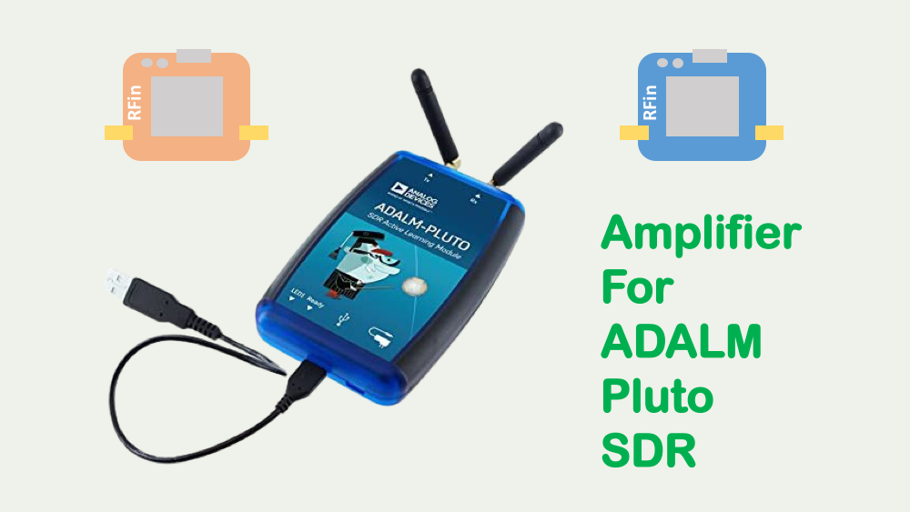 Amplifier for ADALM Pluto SDR