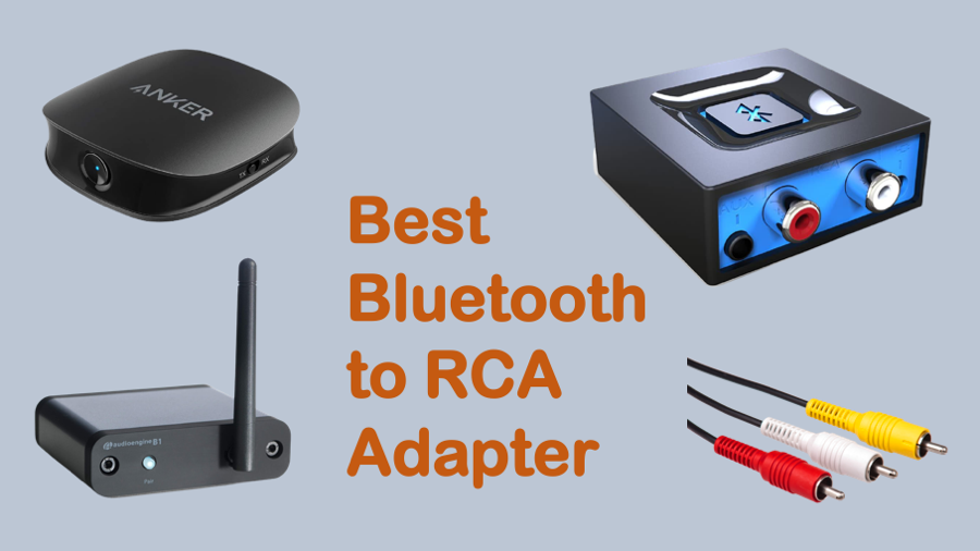 Best Bluetooth to RCA Adapter