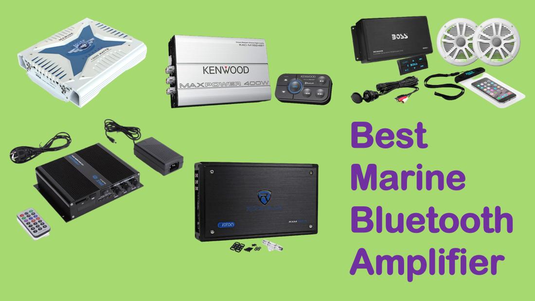 Best Marine Bluetooth Amplifier