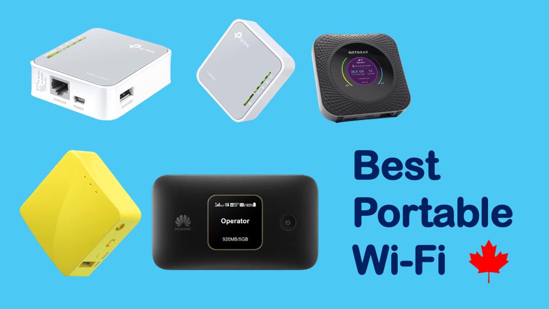 Best Portable Wi-Fi in Canada